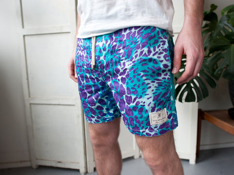 HOLLYWOOD SHORTS. BLUE.