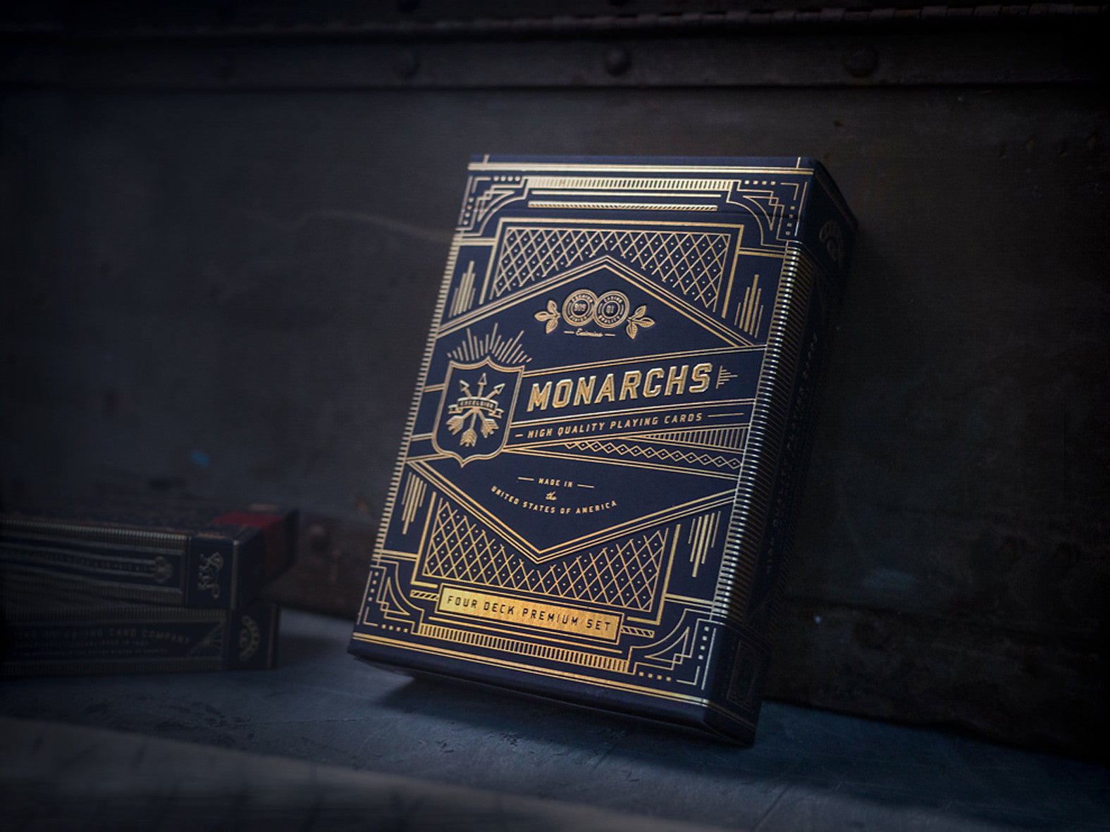 LUXURY PLAYING CARDS - MONARCHS