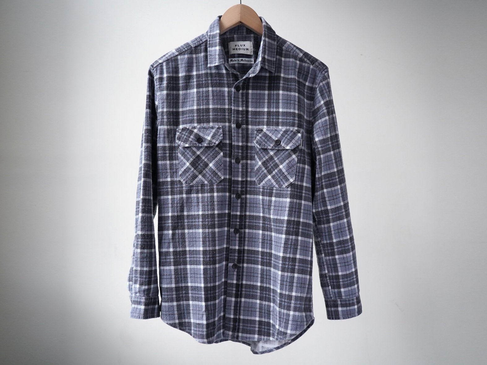TURNER FLANNY. GREY CHECK