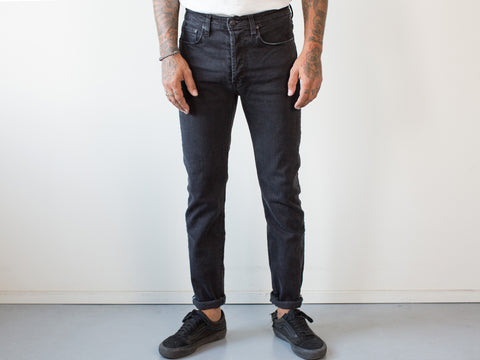 UNION TAPERED - MELBOURNE BLACK.