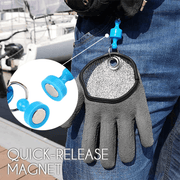 Cut Protection Magnetic Fishing Glove