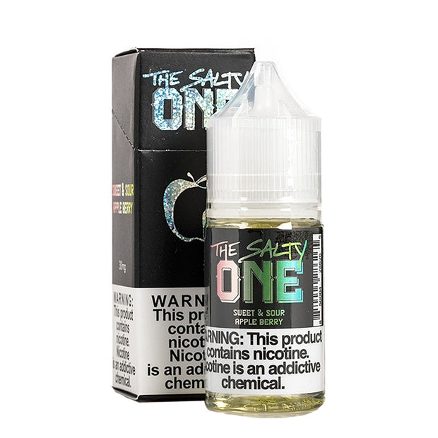 Beard Vape - The Salty One Sour Apple Berry Nicotine Salt - 30ML
