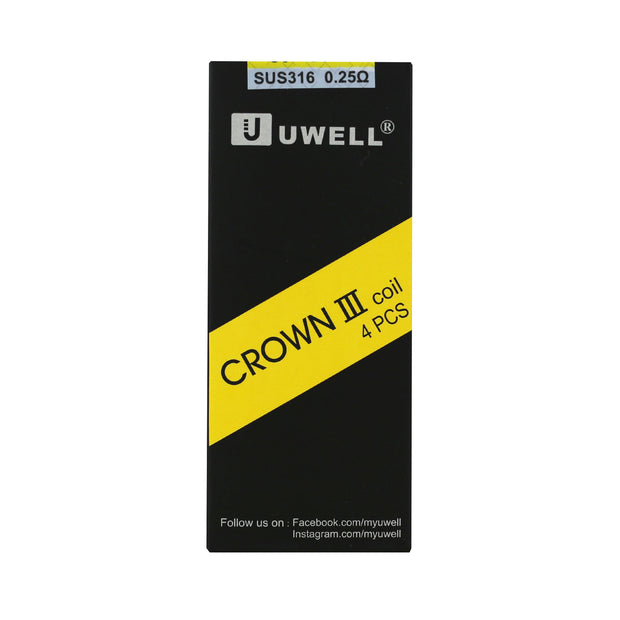 UWELL - Crown III Replacement Coils  - 4 Count