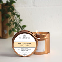 Load image into Gallery viewer, Vanilla Sundae Scent Tin Candle