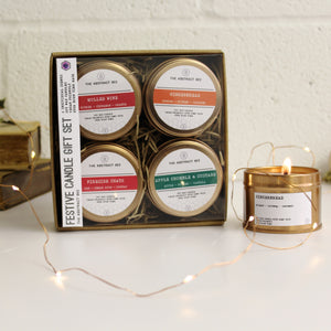 Christmas Candle Gift Set