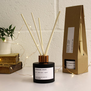 Fireside Chats Christmas Reed Diffuser