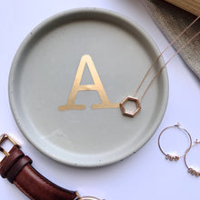Load image into Gallery viewer, Alphabet Initial Trinket Dish