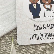 Load image into Gallery viewer, Save the Date Wedding Magnet