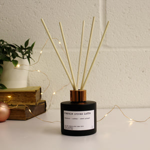 Pumpkin Spiced Latte Christmas Reed Diffuser