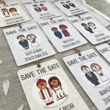 Load image into Gallery viewer, Save the Date Japanese Wedding Magnet