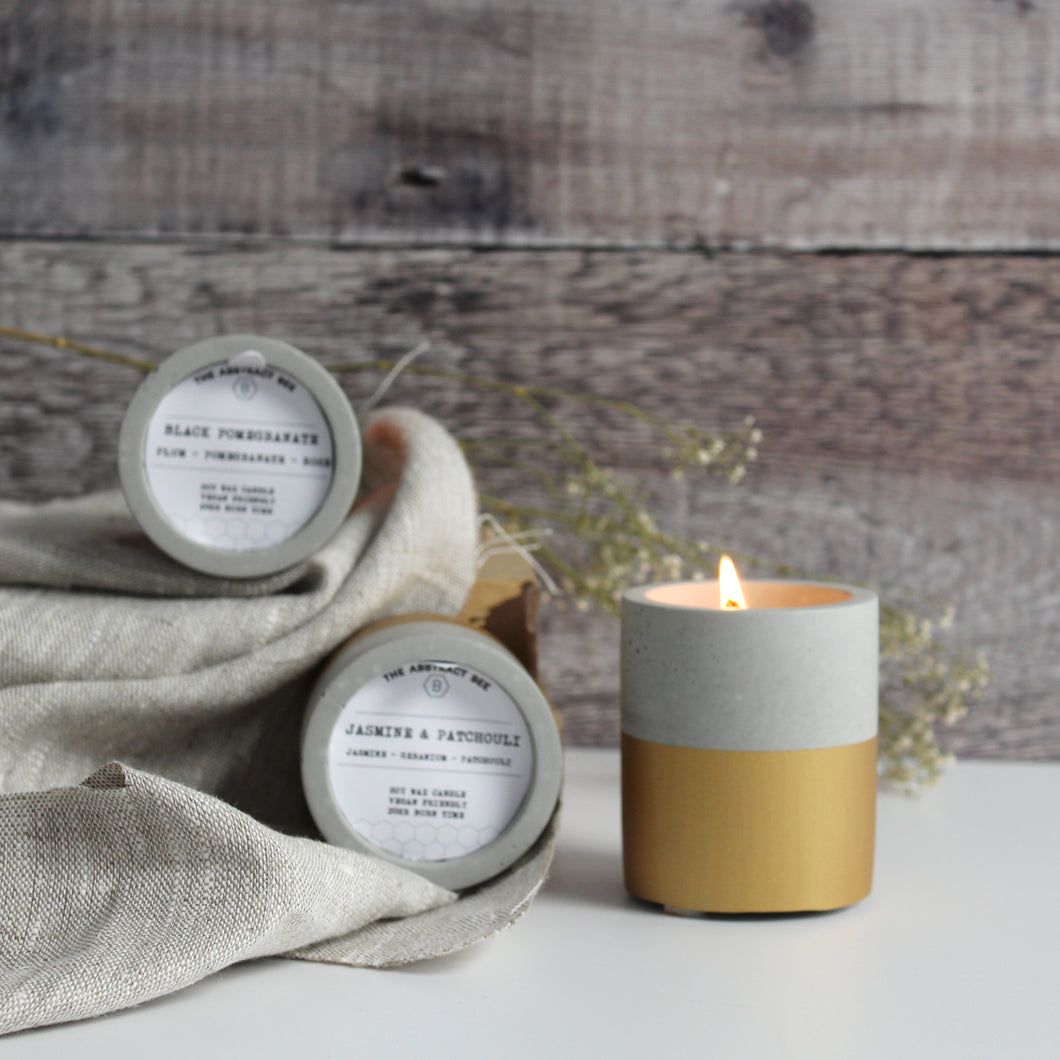 Concrete Soy Wax Candles