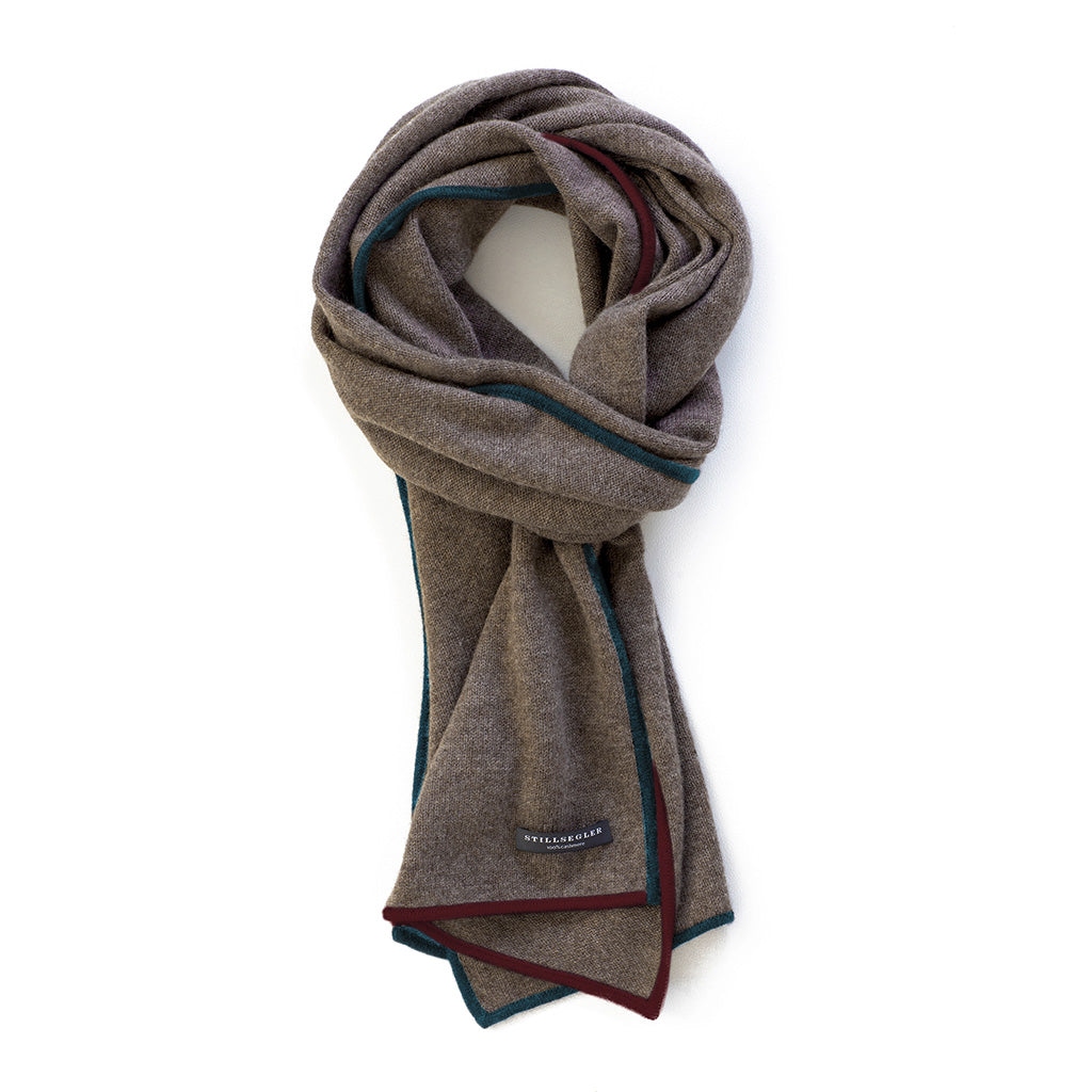 Emily Schal Cashmere Taupe