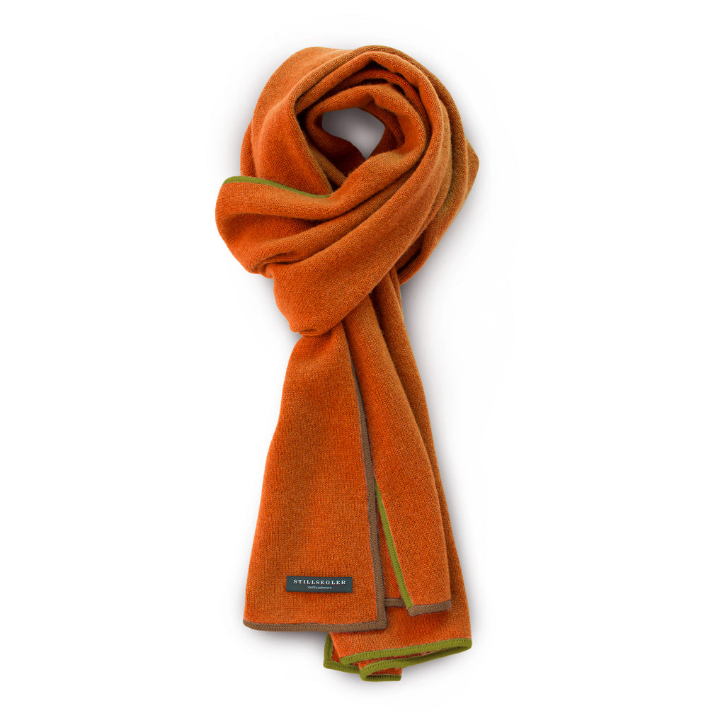Emily Schal Cashmere Orange