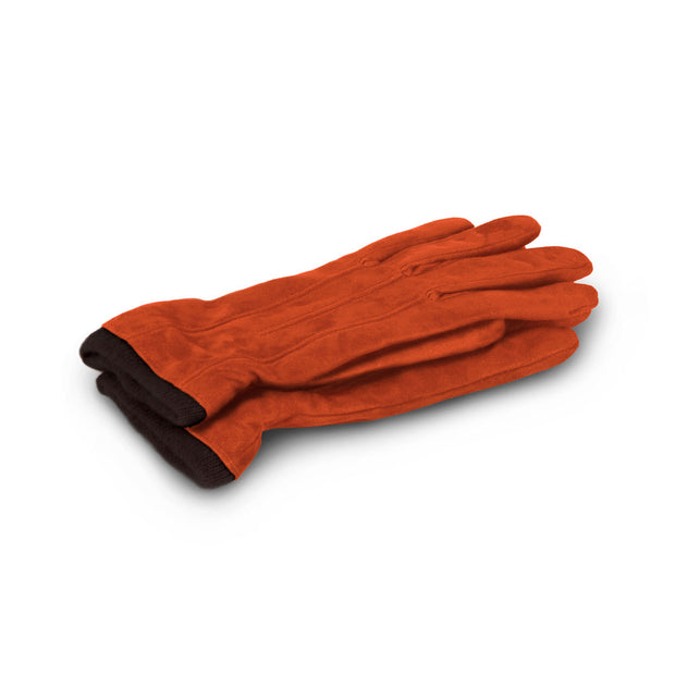 Andrea Lederhandschuh Orange Damen
