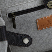 Asolo Filztasche Orange