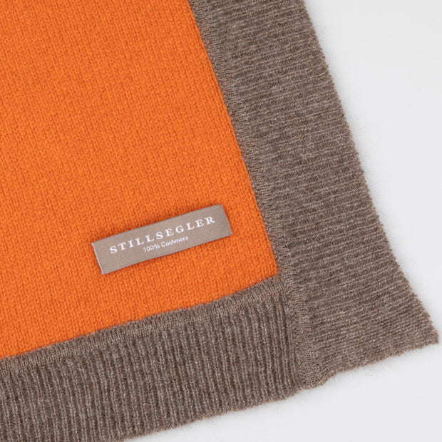 Lorenzo Schal Cashmere Orange
