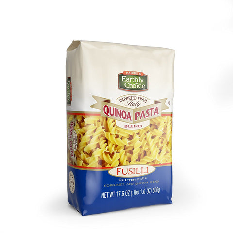 Earthly Choice Quinoa Pasta Blend Fusilli 500g