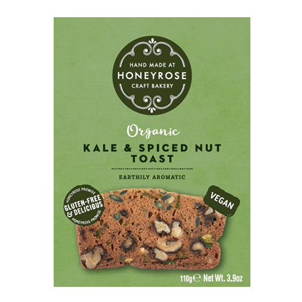 Honeyrose Kale and Spiced Nut Toast 110g