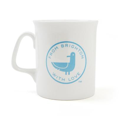 From Brighton with Love Seagull mug from Little Beach Boutique