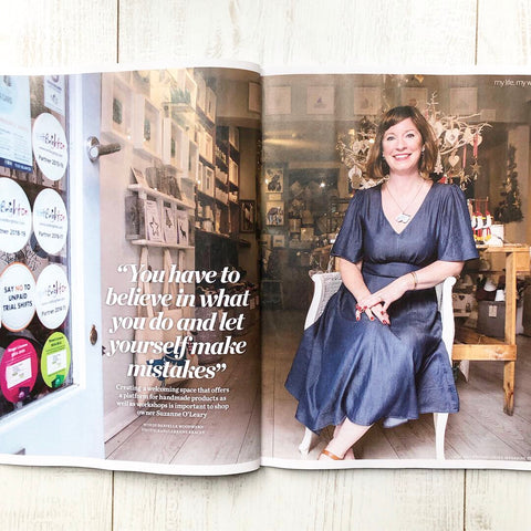 Suzanne gives an interview to Psychologies Magazine about setting up Little Beach Boutique