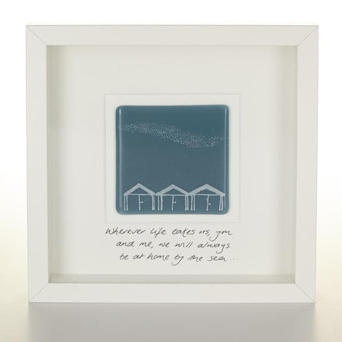 Choose a personal message for your mum this mothers day with our fused glass tile pictures