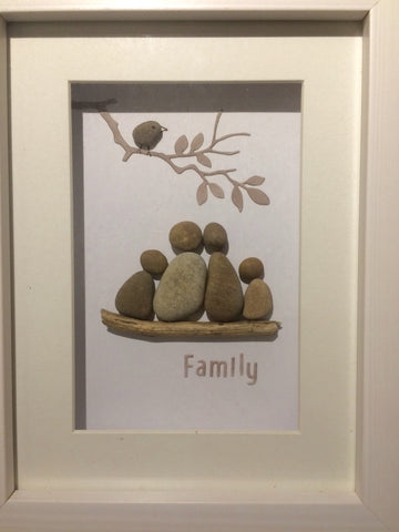 Pebble Family Picture from Little Beach Boutique