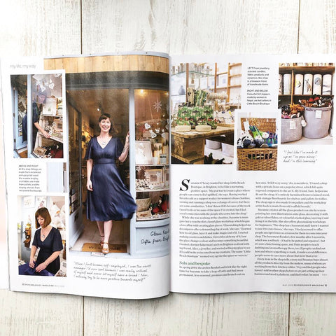 Little beach Boutique is featured in Psychologies Magazine this month
