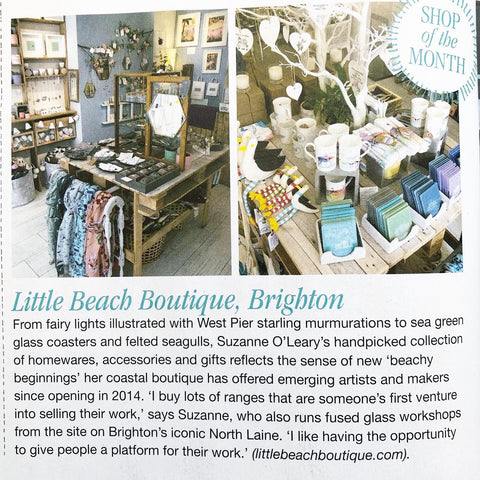 Little Beach is very excited to be featured as shop of the month in Coast Magazine