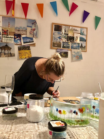Come to our fused glass taster day as a mothers day gift