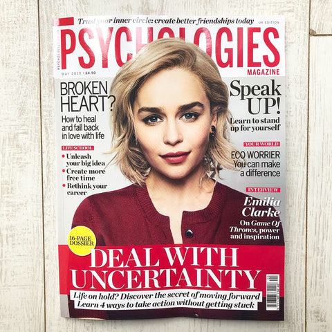 Read our feature 'My Life My Way' in Psychologies Magazine
