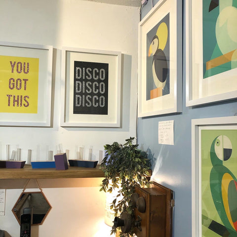 Vibrant new prints by Oh Squirrel and Cloud Cuckoo Designs