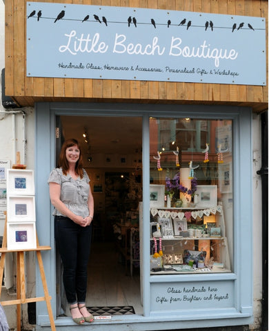 Suzanne from Little Beach Boutique answers questions about how she set up her business for Evermade, Brighton