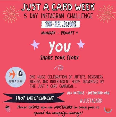 Just a card week at Little Beach Boutique celebrating independent shops and small businesses