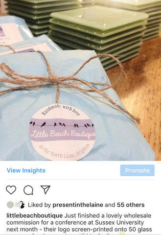 Bespoke gifts for corporate events and conferences, Brighton, Little Beach Boutique
