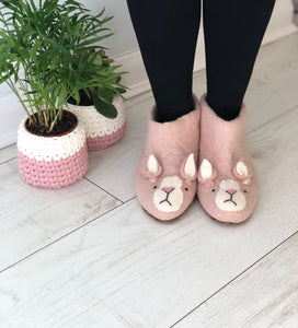 Grumpy Rabbit Slippers in Adult Sizes