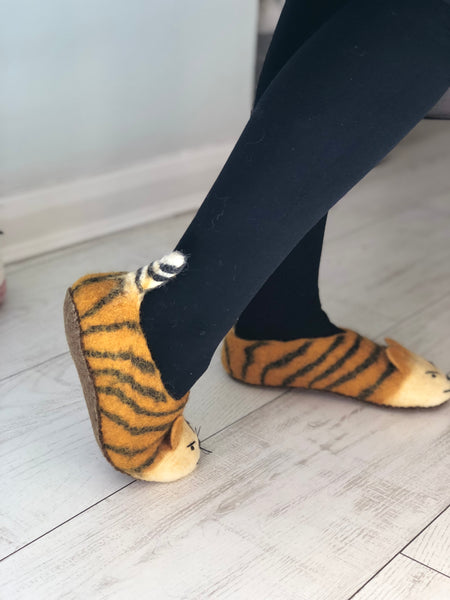 They're Neat, You'll Really Love These Tiger Feet - Adult Sizes