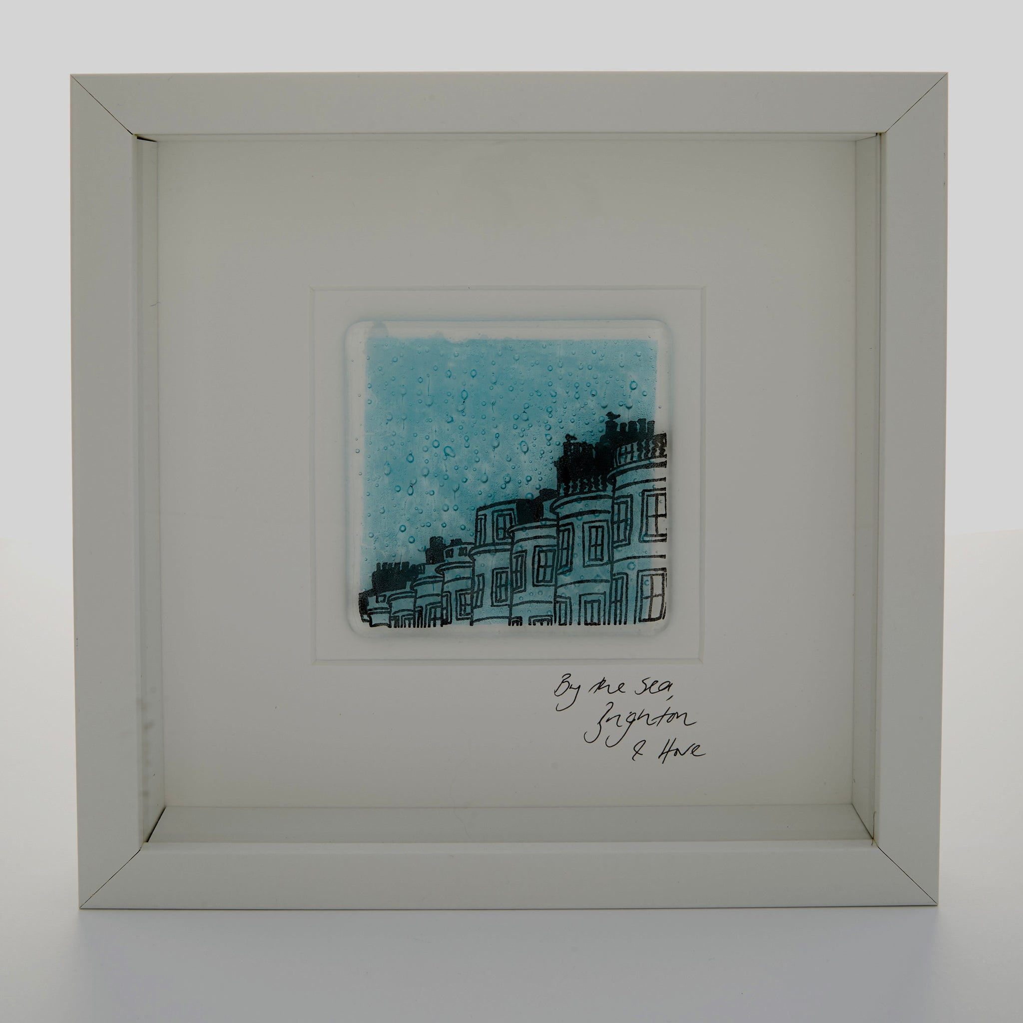 Regency Town Houses on our Brighton glass pictures