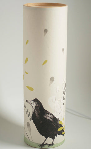 Rook Illustrated Parchment Paper Lamp