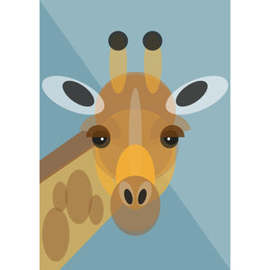 Giraffe Art Print by Cloud Cuckoo design