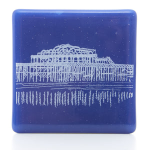 West Pier Coaster in white