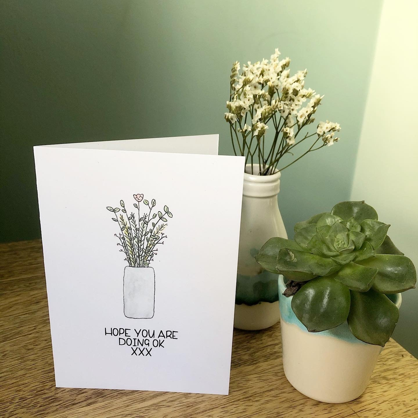 'Hope you are doing ok' Card
