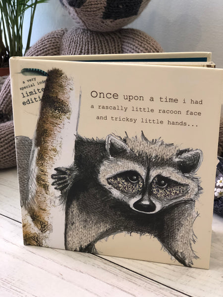 Rascally racoon Limited Edition Children's Book