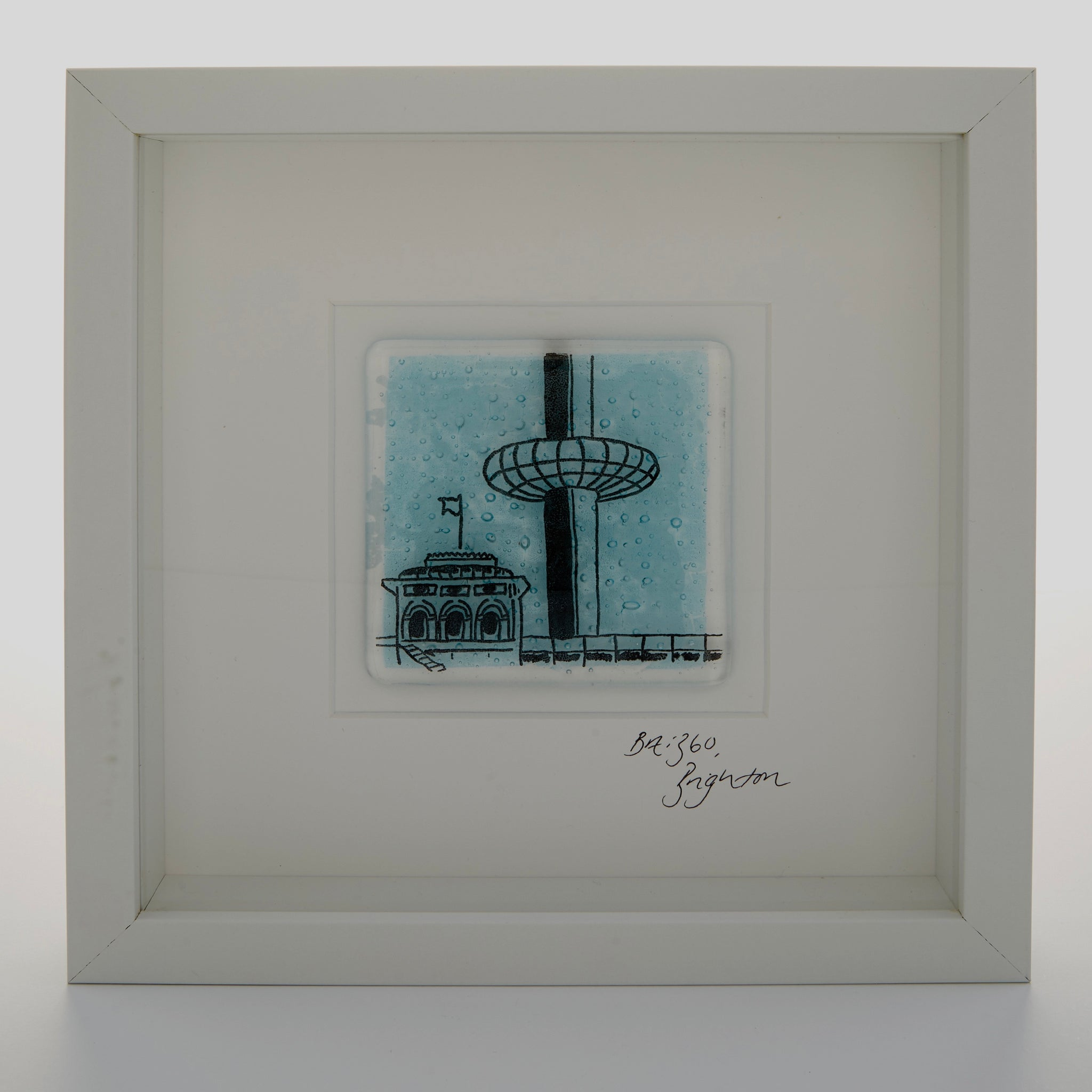 Brighton i360, Framed Glass Tile