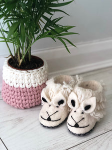 Wooly Wonderful Sheep Slippers