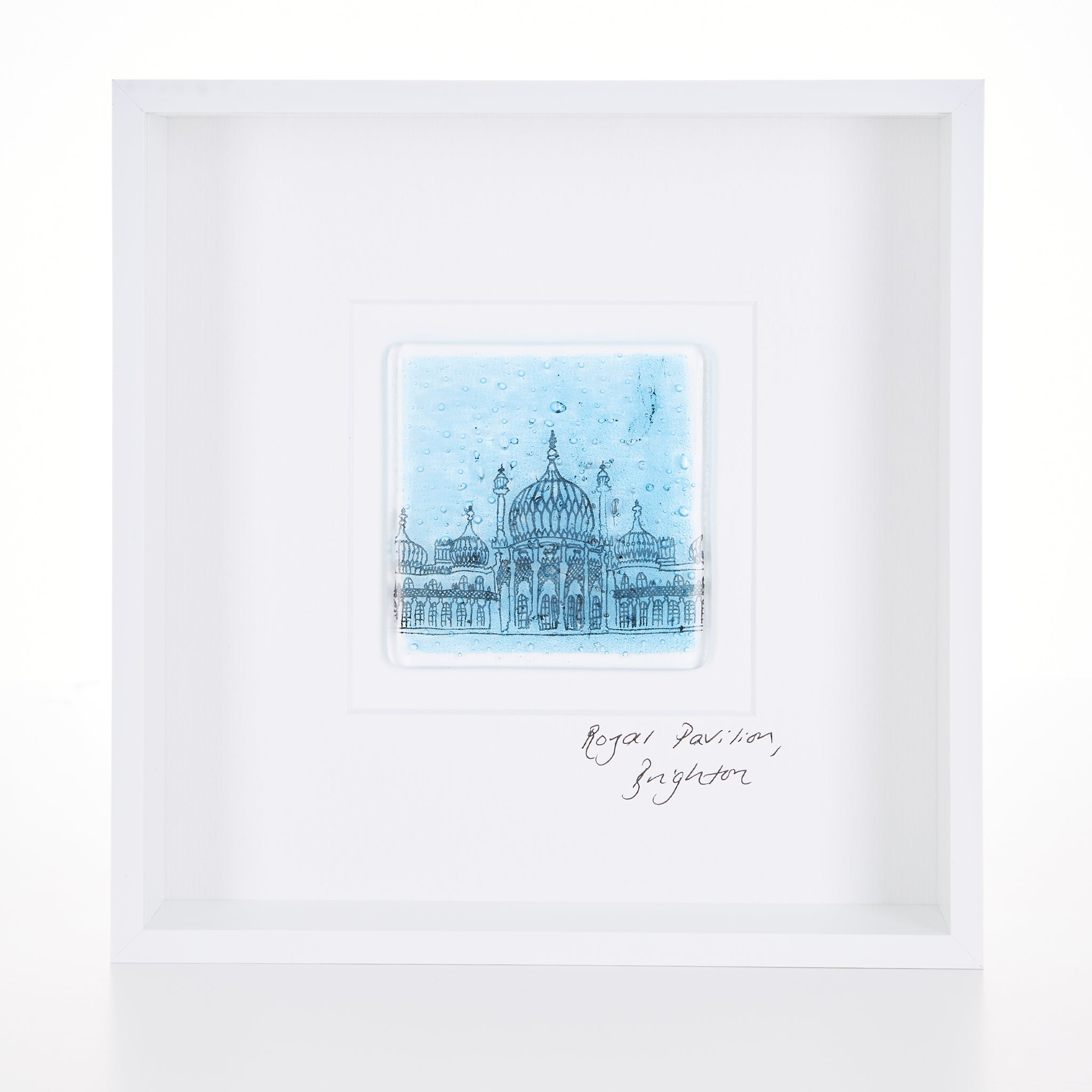 Brighton Pavilion, Framed Glass Tile