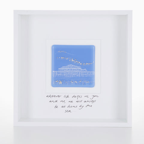 """Wherever Life Takes Us"" West Pier Glass Picture"