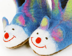 Wool slippers for children