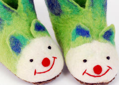Felt slippers for children felt animal slippers
