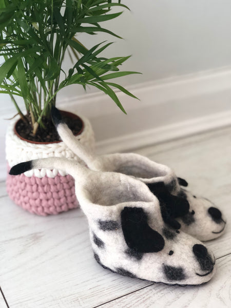 Spot On Felted Dog Booties for children