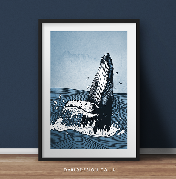 'Tails of the Sea' Fine Art Prints by Dario Fisher
